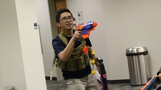 INDOOR 50 PERSON NERF WAR: Game 2 Highlights! (Part 2/3) (2/2/14)(, 2014-12-26T23:46:14.000Z)