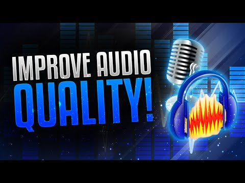 How to Make Your Voice/Audio Sound Better! Audacity Background Noise Removal Tutorial! (2017)