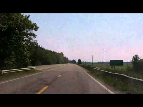 Part 2 of 3 - Enfield to Olney (Illinois) - Road trip to EIU