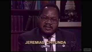 Jeremias Chitunda VIce Presidente da UNITA /  USA 1990