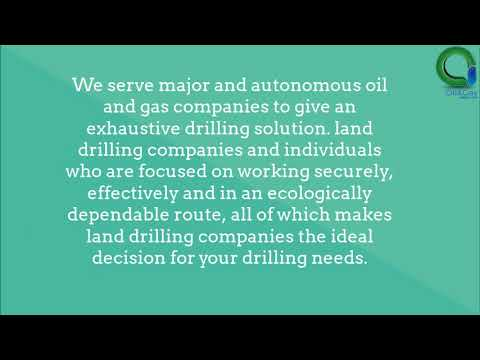 Hire one of the best land drilling companies in UAE