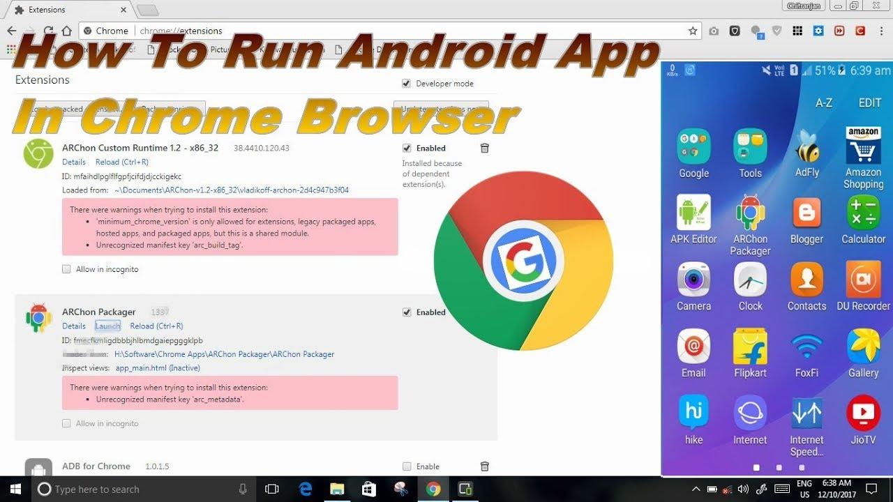 In App Browser