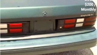 1994 Dodge Shadow Used Cars London KY