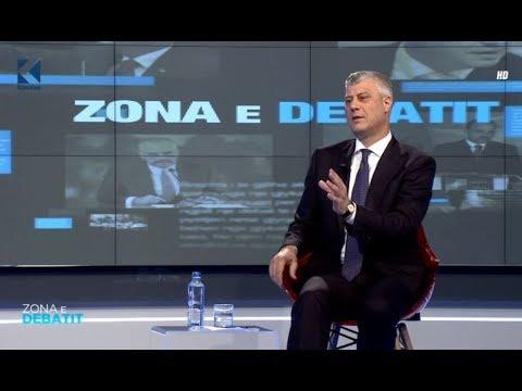 Zona e Debatit - Hashim Thaçi - 01.02.2018 - Klan Kosova