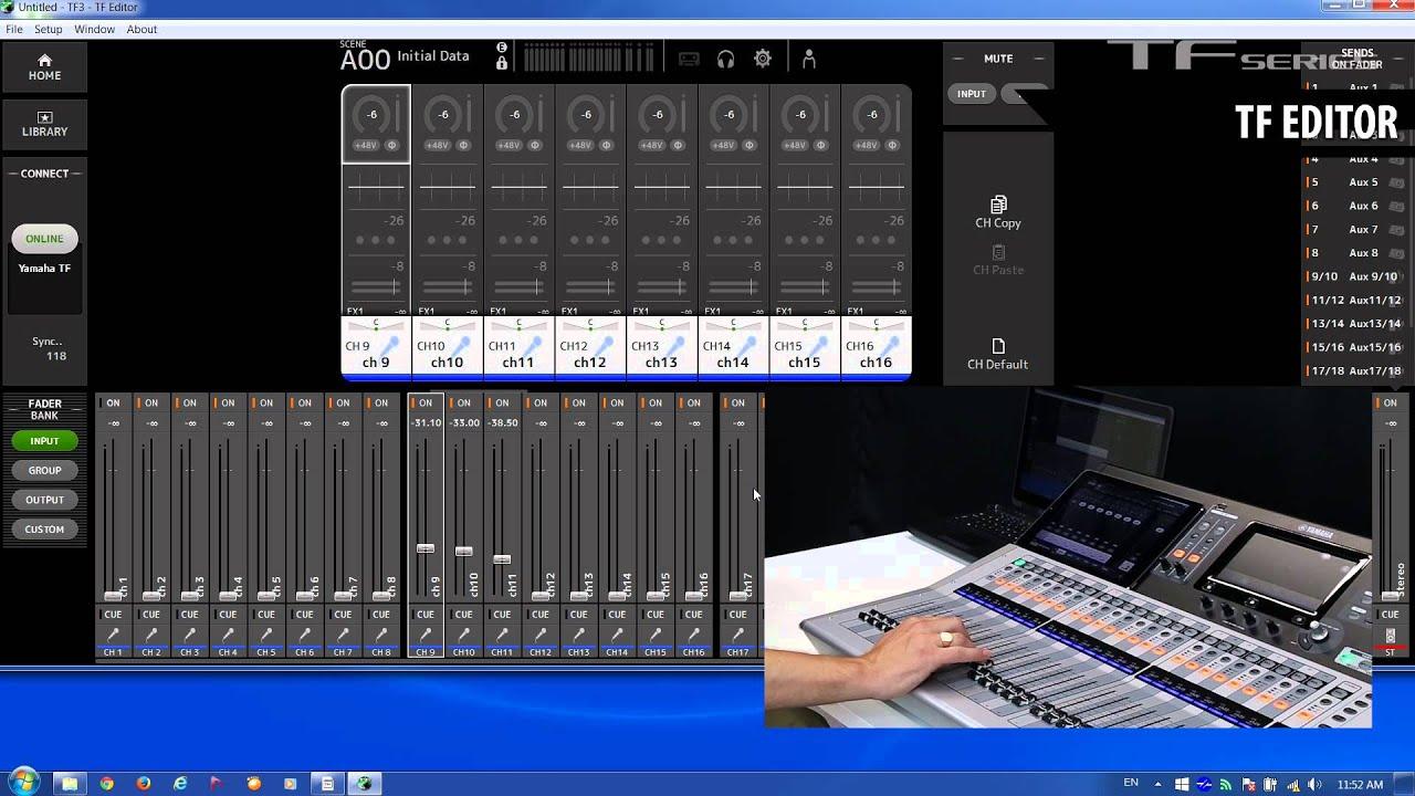 Yamaha Tf Software