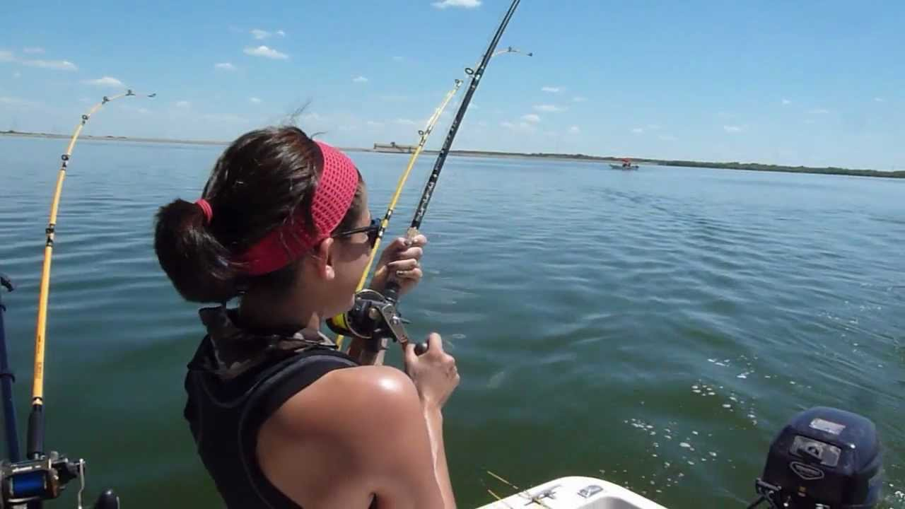 Nice calaveras lake redfish in hd for Calaveras lake fishing guides