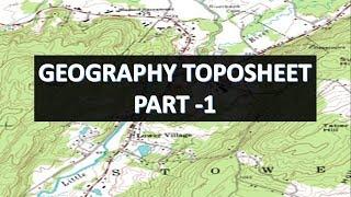 GEOGRAPHY TOPOSHEET
