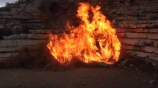 How hot can tumbleweed burn??