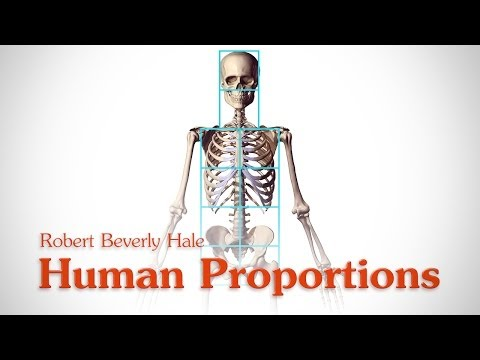 Human Figure Proportions - Cranial Units - Robert Beverly Hale