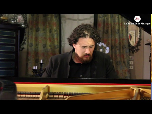 Immanuel Bah plays Variations on an Original Theme, Op. 21, No. 1 by Johannes Brahms