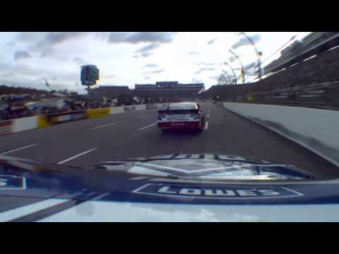 Jimmie Johnson onboard Martinsville Fall 2012