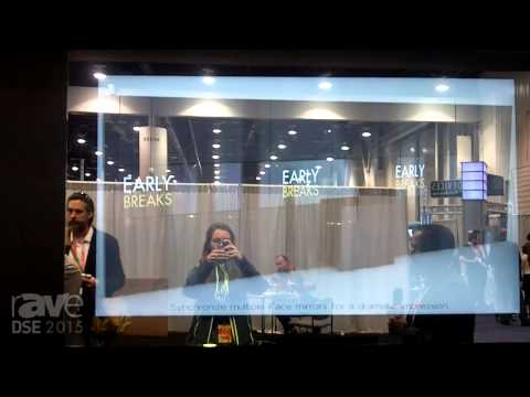 DSE 2015: iFace Shows Off Its Digital Mirror, a Combination Mirror and DS Display