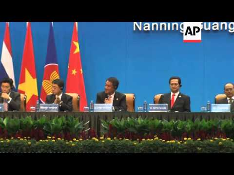 Xi opens Expo, addresses leaders, Myanmar leader comment