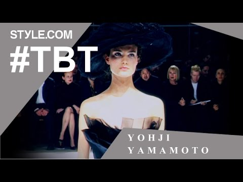 Yohji Yamamoto's Transformative Wedding Collection- #TBT with Tim Blanks -Style.com