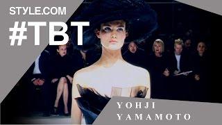 Yohji Yamamoto's Transformative Wedding Collection- #TBT with Tim Blanks -Style.com