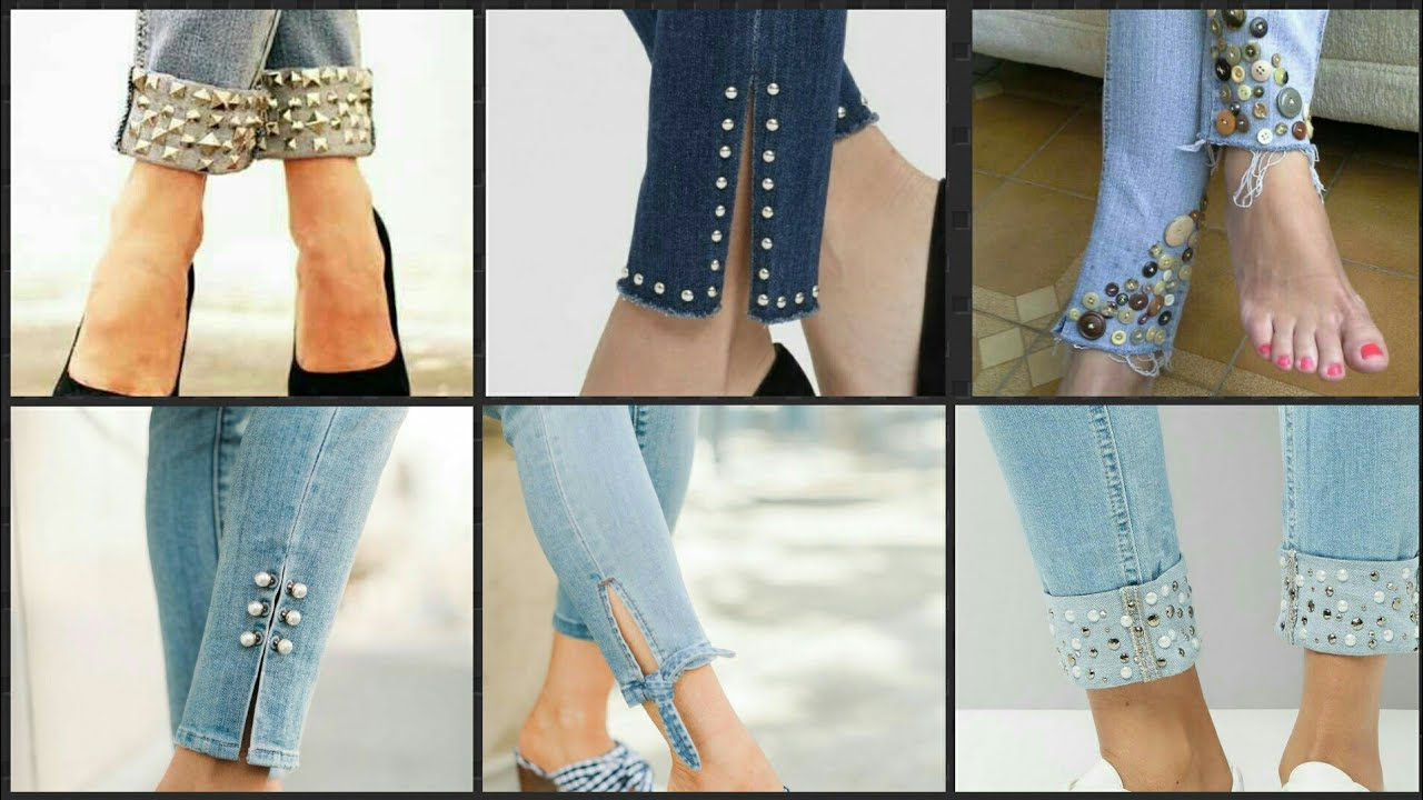Latest & Stylish Jeans Designs For Girls 2020