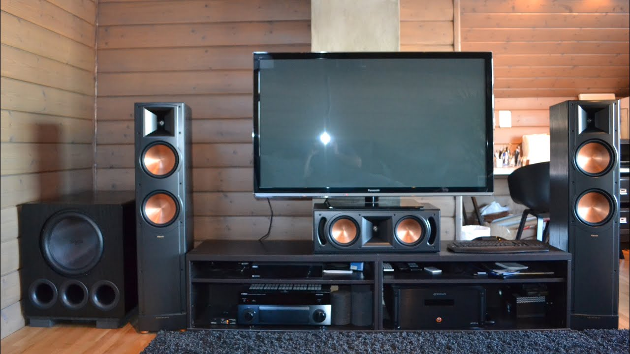 Home Theater Subwoofer >> Klipsch and SVS Home Theatre! - YouTube
