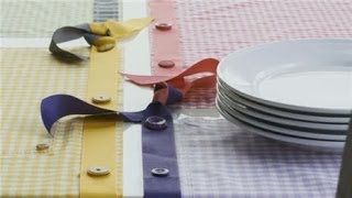 How To Make A Table Runner With No Sewing