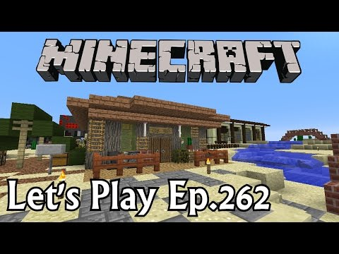 Minecraft Let's Play Ep. 262- Medicine Man Shop