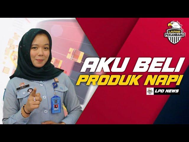 BAZAR PRODUK WARGA BINAAN LAPAS PEKANBARU - LPD News #1