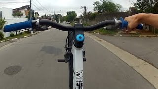 hudson xavier nova srie empinando de bike rl e rols wheeling bike