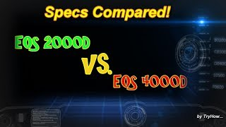 Specs Compared: EOS 2000D vs. EOS 4000D