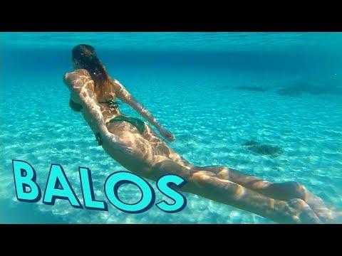 Beautiful Balos Beach Lagoon Crete island Greece ..Μπάλο παραλια Χανια ..The turquoise Paradise