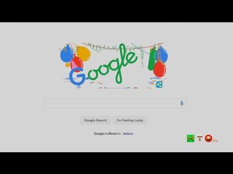 Il doodle animato di Google per il 18° compleanno del Motore di Ricerca - www.HTO.tv