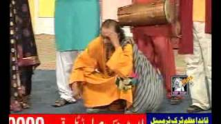 aman ullah pakistani funny stage actor