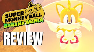 Super Monkey Ball Banana Mania Review - The Final Verdict (Video Game Video Review)