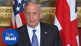 Mattis on Russia's violation of international law - Daily Mail