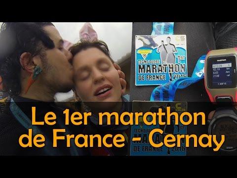 Le premier marathon de France des Lapins Runners !