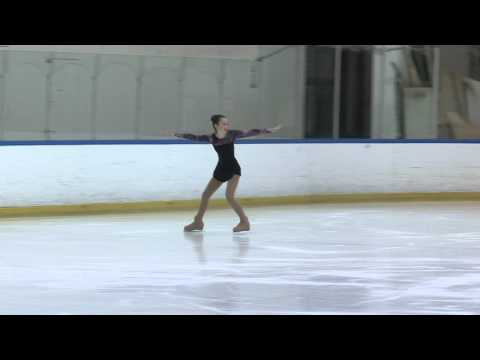 My Sister's 1st Place Ice Skating Routine