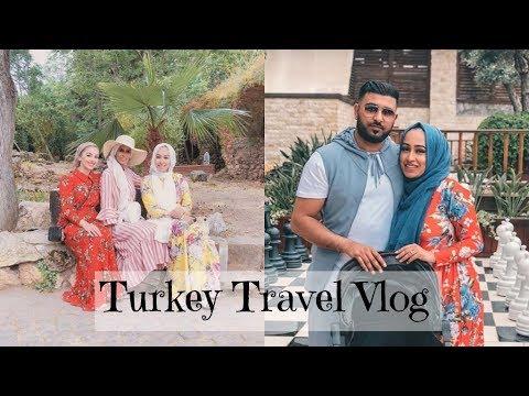 Antalya Travel Vlog - With Basma K & Aaliyah JM