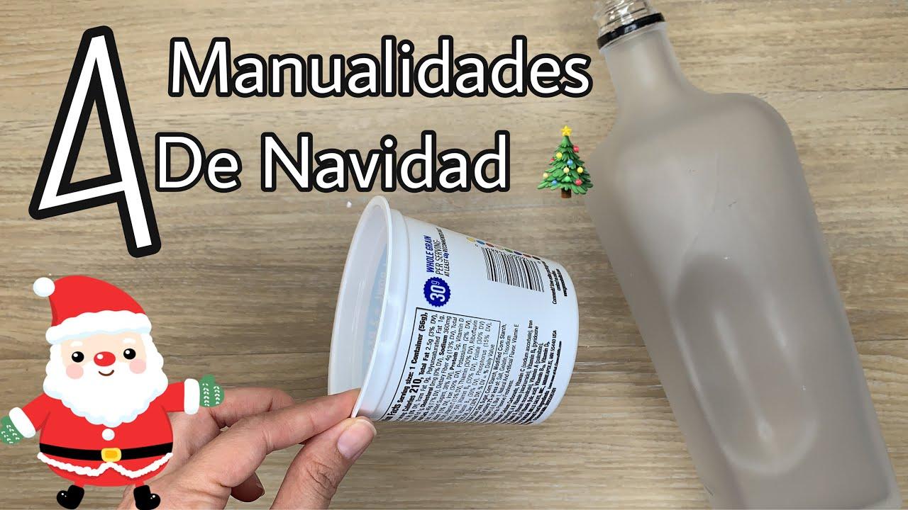 4 MANUALIDADES NAVIDEÑAS 2020/Christmas Decoration Ideas/Manualidades navideñas para vender