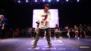 Student Side Best16 4 士凱 vs Boogie Tie | 20151024 Being On Our GROOVE Vol.3 Popping 1 on 1 BATTLE