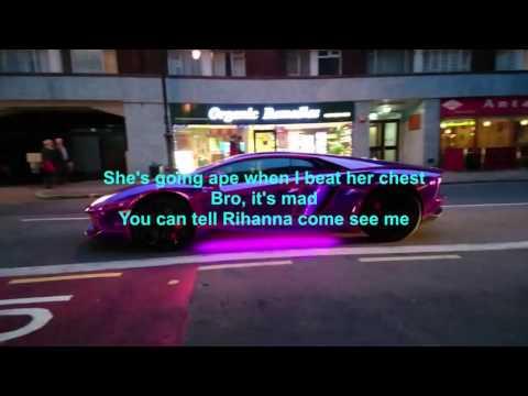 KSI - Lamborghini Feat. P-Money (Lyrics)