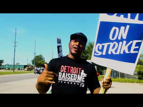 Detroit rapper mines UAW-GM labor dispute for latest video, 'On Strike'