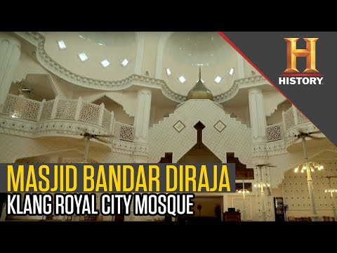 Masjid Bandar Diraja: Klang Royal City Mosque | My Mosque