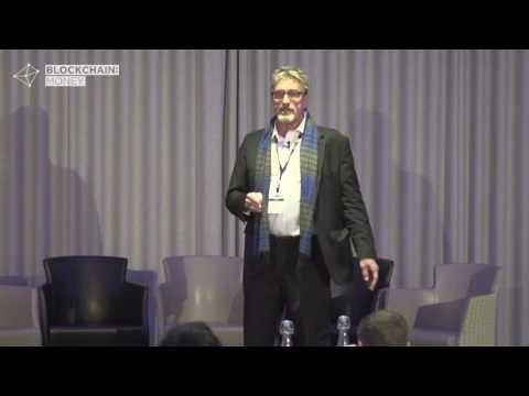 John McAfee Keynote:  Blockchain Money London 2017