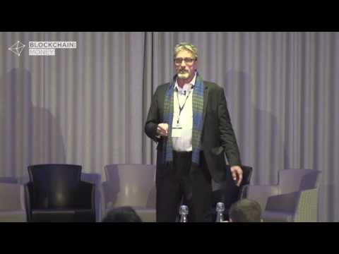 John McAfee Keynote:  Blockchain Money London 2017