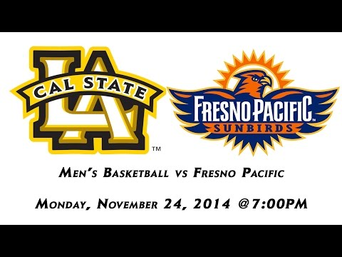 Cal State L.A Men's Basketball vs Fresno Pacific