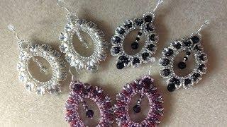 (Tutorial) Crystal Portrait Earrings (Video 9)