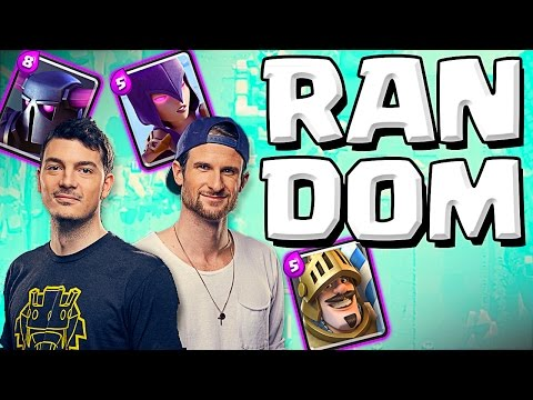 RANDOM DECK CHALLENGE :: Clash Royale :: OPPONENT CHOOSES MY DECK! from YouTube · Duration:  17 minutes 10 seconds