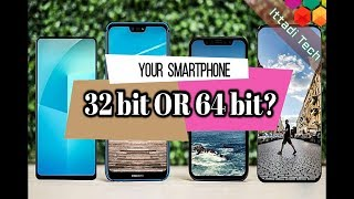 How to know your Phone Operating System 32 bit or 64 bit ? 32 bit vs 64 bit .