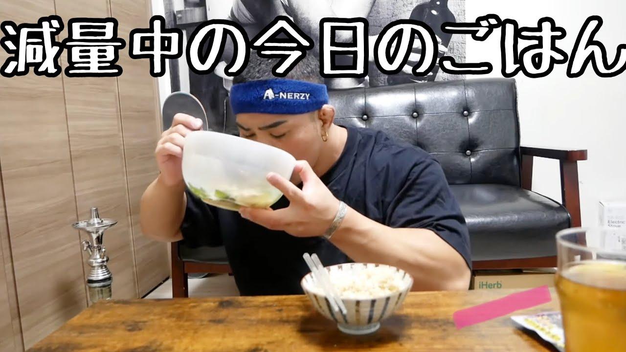【減量食】毎日食べてるごはんはこんな感じ!
