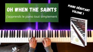 Oh when the saints - J'apprends le piano tout simplement - Volume 1