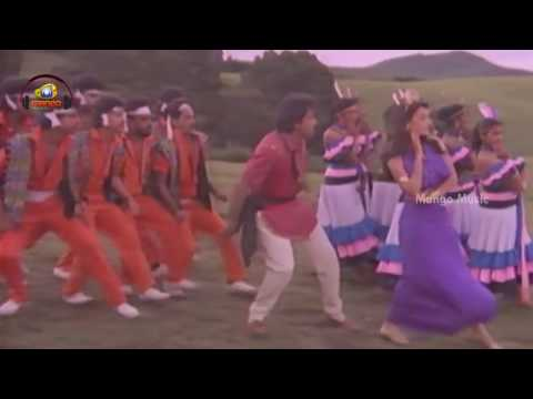 Ellelo Video Song | Raja Vikramarka Telugu Movie | Chiranjeevi | Raadhika | Raj Koti
