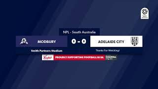 🏆 NPL SA Round 2️⃣1️⃣, 🏟 Modbury Jets vs Adelaide City #NPLSA