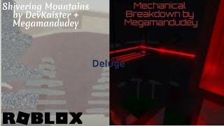 Roblox / Deluge | Shivering Mountains [Easy] + Mechanical Breakdown [Hard]